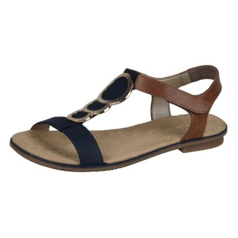 navy blue flat dress sandals rieker navy blue and leather flat sandal with ankle
