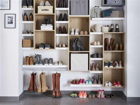 Ou Poser Ses Vetements Dans Une Chambre by R 233 Aliser Un Dressing Pour Les Chaussures Leroy Merlin