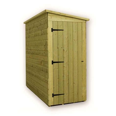Shed With Side Door Shedswarehouse Aston 3ft X 7ft Windowless Pressure
