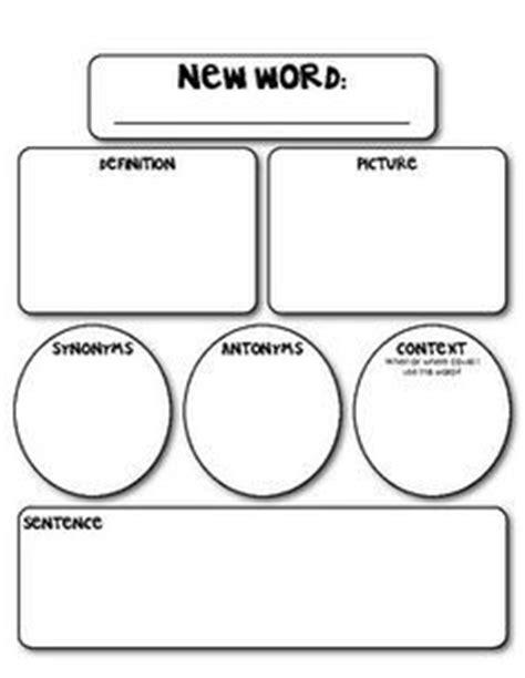 marzano vocabulary template vocabulary learning what words marzano