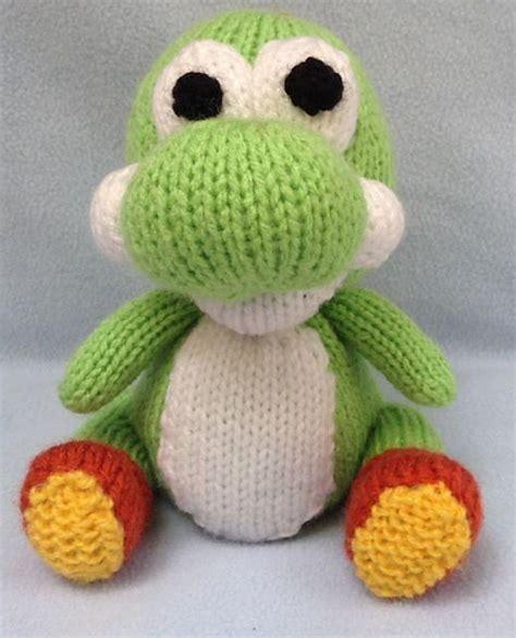 Knitting Pattern Yoshi | yoshi choc orange cover toy knitting pattern by andrew lucas