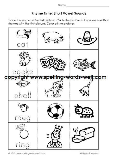 Free Printable Kindergarten Phonics Worksheets by Kindergarten Phonics Worksheets