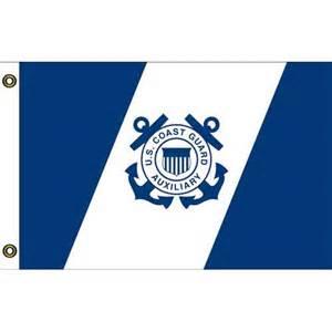 coast guard colors us coast guard auxiliary 1 0ft x 1 6ft flag