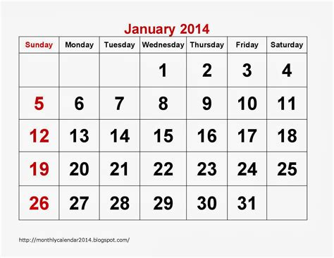 printable calendar jan 18 january 2014 calendar printable 18 printable calendar