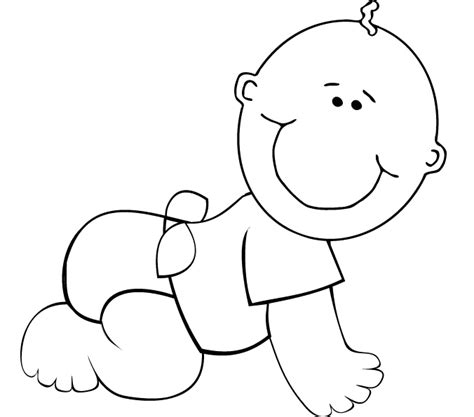 71 boy coloring page baby boy coloring pages