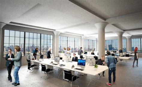 office interior rendering former coffee complex stirring back to as tech office real estate weekly