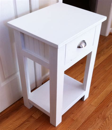 A Nightstand white simple white nightstand diy projects