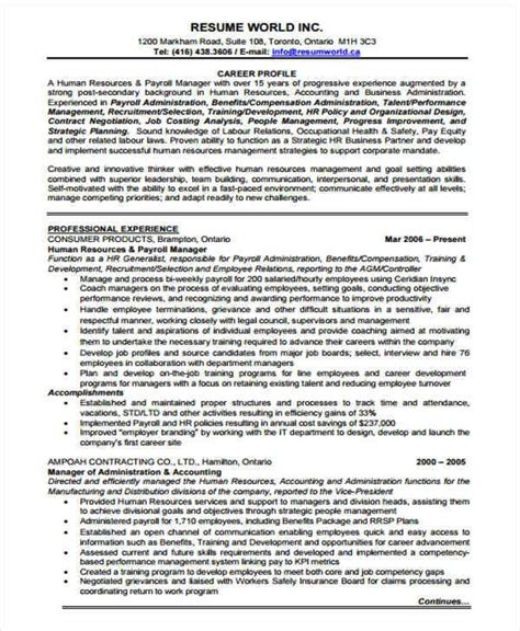 professional manager resume 45 manager resume sles