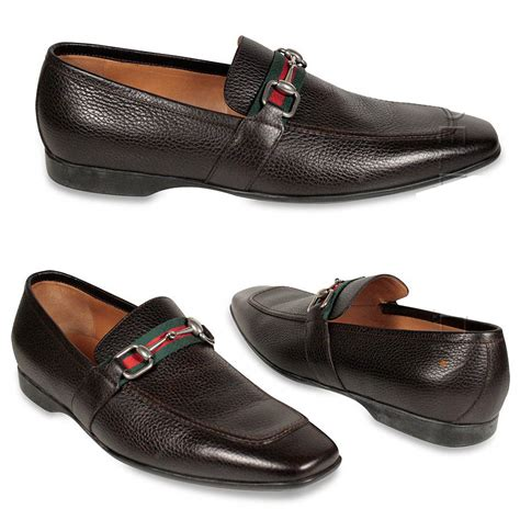 gucci loafers for mens gucci shoes s loafers horsebit signature stripe brown