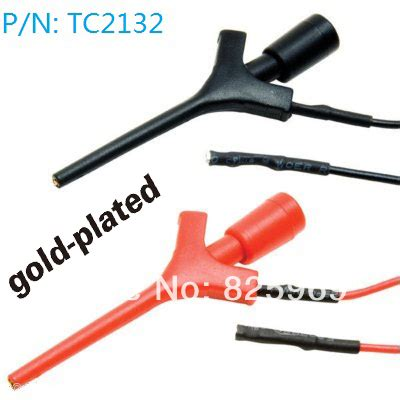 aliexpress buy airplane test hook connector wire multimeter lead wire kit smd ic hook test