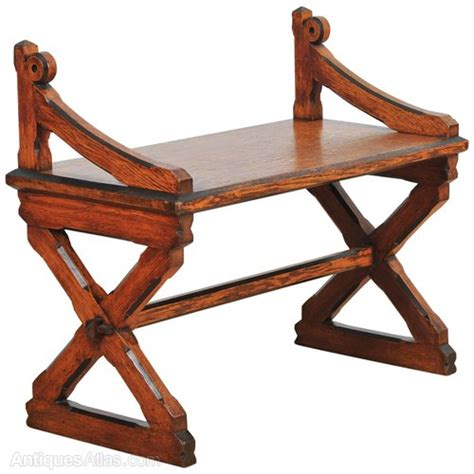 john hall bench arts and crafts oak hall bench antiques atlas