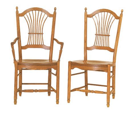Dining Chairs Made In Usa Oak Sheaf Dining Chairs