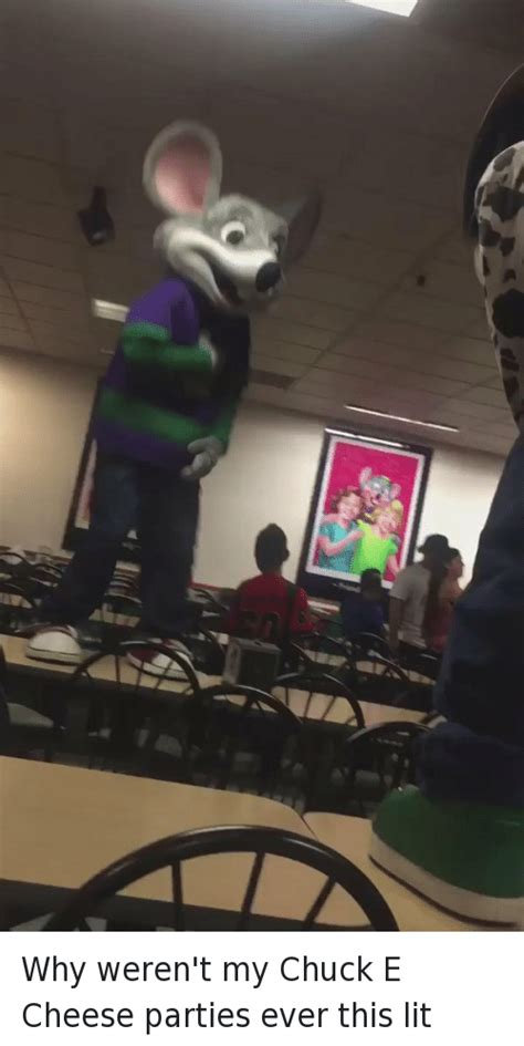 Chuck E Cheese Meme - in why weren t my chuck e cheese parties ever this lit