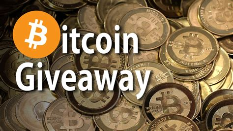 Bitcoin Giveaway - bitcoin giveaway join the revolution youtube