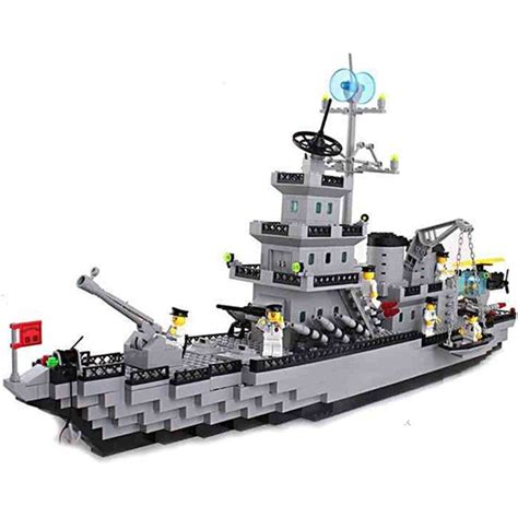 lego army boats lego compatible toy army navy battleship destroyer ship