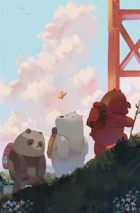 aesthetic  bare bears phone wallpapers wallpaper cave