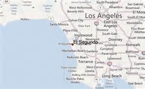 map el segundo california el segundo location guide