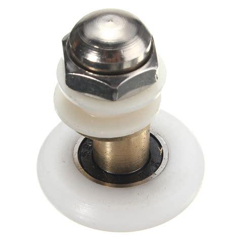 Glass Shower Door Roller Replacement 25 27mm Replacement Brass Bathroom Shower Door Roller Runner Glass Sliding Door Wheel Pulley
