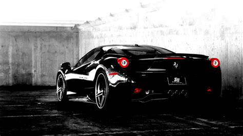 wallpaper black ferrari black ferrari wallpaper hd for desktop image 96