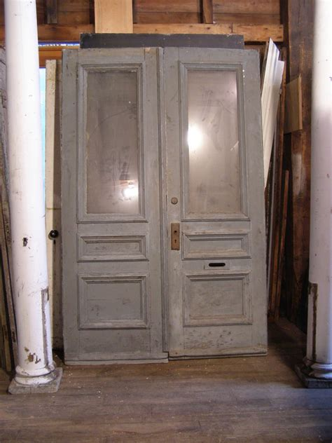 Sold X3 Pair Measures 54 X 84 Salvaged Exterior Doors