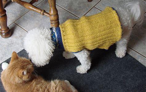 knitting pattern for westie dog coat ravelry dog coat pattern by westie lovers list member cher