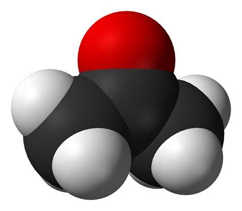 alimentazione con acetone acetone
