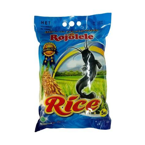 jual rojolele beras 5 kg harga kualitas