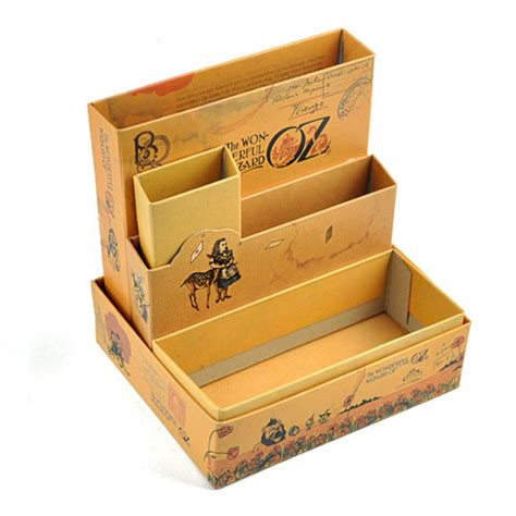 Desk Organizer Box Diy Paper Stationery Makeup Cosmetic Desk Organizer Board Tale Storage Box In Storage