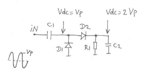 diode detector circuit hf diode detector