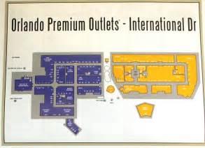 premium outlets map orlando premium outlets international drive closest
