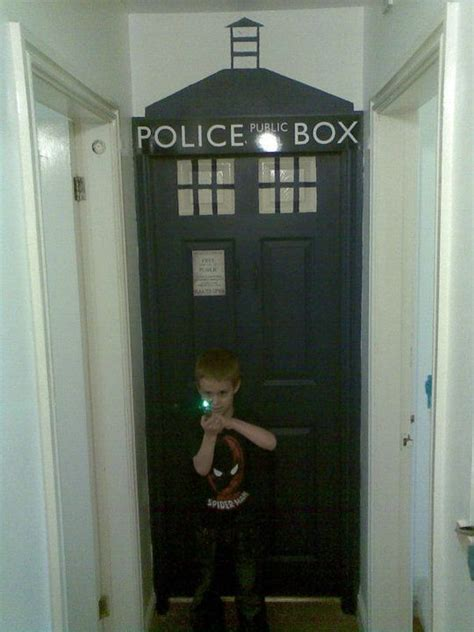 tardis bedroom my son s tardis bedroom interior design pinterest