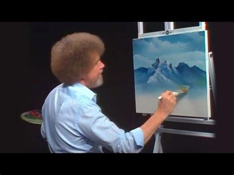 bob ross painting lesson bob ross a spectacular view season 27 episode 7