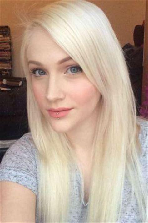 Resume Sample After Long Break by White Blonde Hair Black And White Hair Long Short