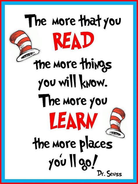 Printable Dr Seuss Reading Quotes | 227 best images about dr seuss on pinterest