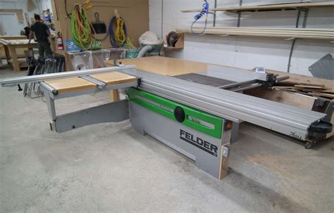 Used Felder K700 S Sliding Table Saw Coast Machinery
