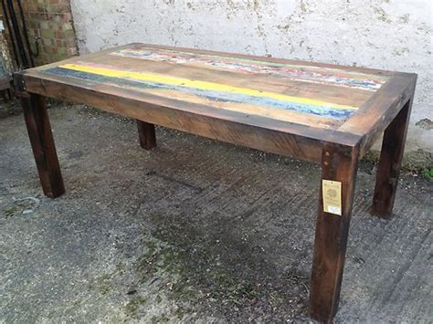 8 seater boat 8 seater dining table sale price 163 499 recycled boat