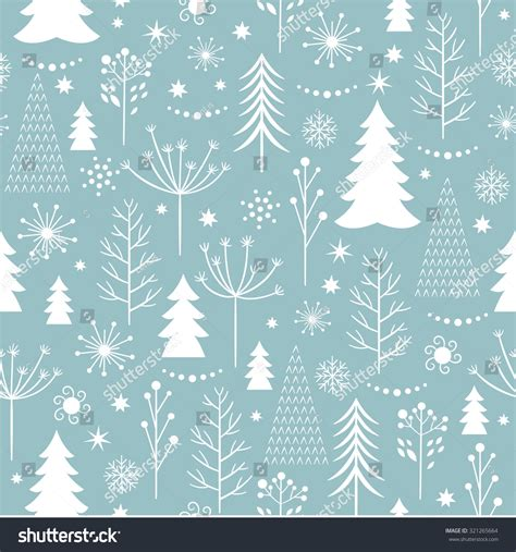 seamless christmas pattern vector seamless christmas pattern stock vector 321265664
