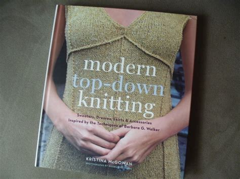 modern knitting with kristy mcgowan author of modern top