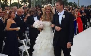 Donald trump s son eric trump married lara yunaska see photos