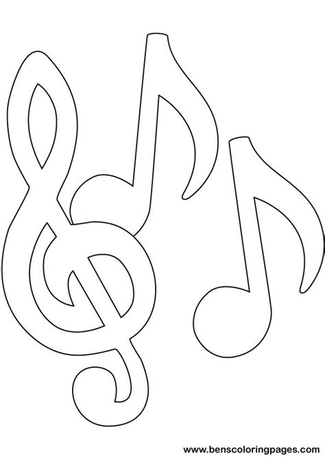 music coloring pages to print free coloring pages of eighth note
