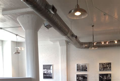 exposed ductwork white gold my project select realty