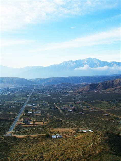 morongo valley ca view   hills photo picture