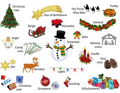 imagenes en ingles para navidad christmas and new year vocabulario im 225 genes de navidad en