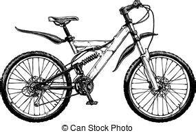 bicicletta clipart disegno vettore bicicletta illustrazione inchiostro