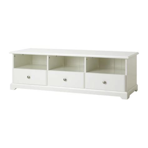 Liatorp tv unit ikea smooth running drawers with drawer stops to keep