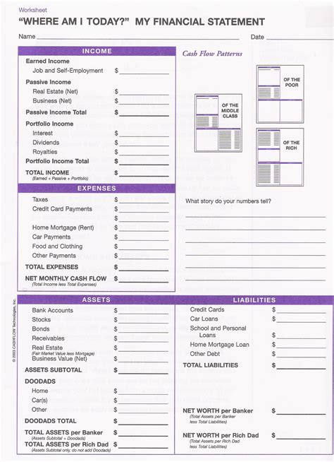 blank financial statement pdf