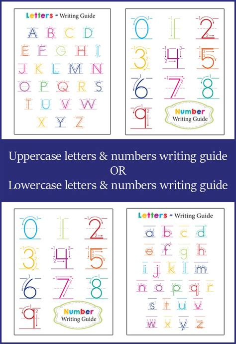 Memo Writing Guide Preschool Activities Letter Number Writing Guides
