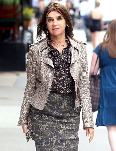 Carine Roitfeld by Carine Roitfeld Out And About In New York 06 29 2016