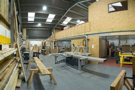shared woodworking workshop space  felder machinery