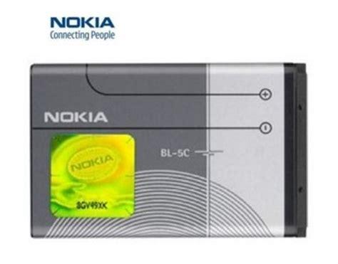 Bateraibatrebattery Nokia Bl5c 1209 Power nokia genuine bl5c cellular telephone battery